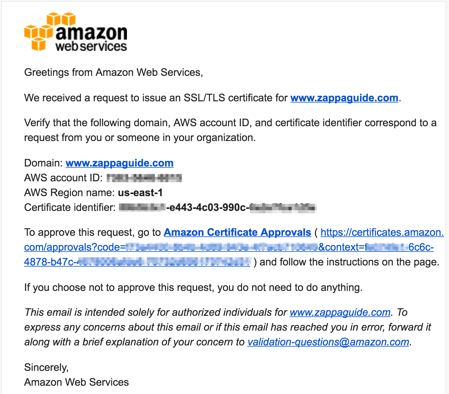 AWS Certificate Manager (ACM) - Guide to using Django with Zappa